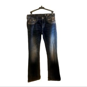 Miss Me Jeans Size 27 mid rise boot cut